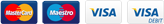 visa - mastercard payment logos