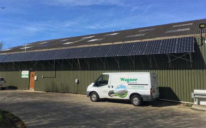 Wagner Renewables van and premises
