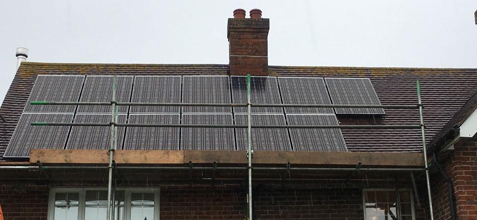 Stubbington 3.9kW solar panel installation by Wagner Renewables