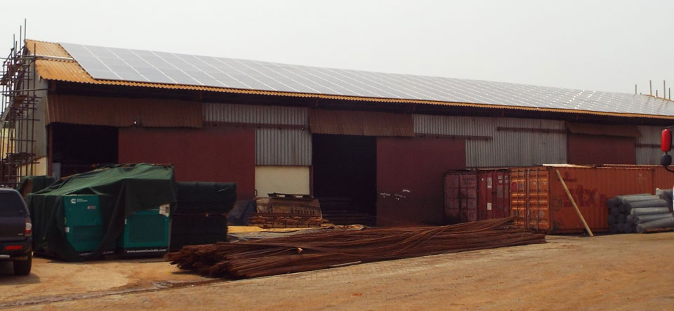 Wagner Renewables Sethi Steel case study Ghana