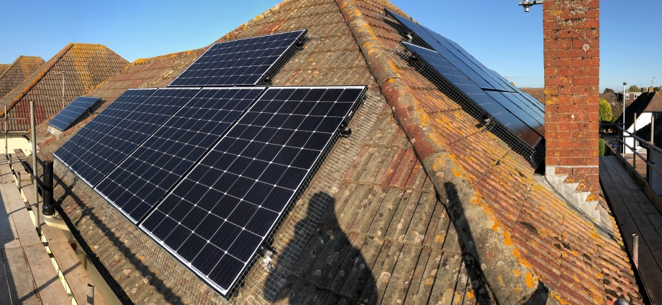 Worthing 4.7kW Solar PV array | Wagner Renewables