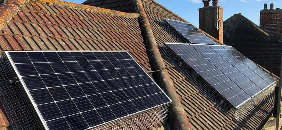 Worthing 4.7kW West facing solar panels | Wagner Renewables